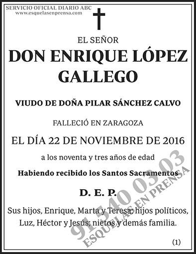 Enrique López Gallego